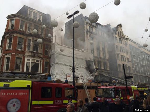 oxford street fire