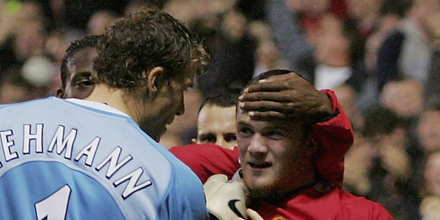 Jens Lehmann takes umbrage with Wayne Rooney scoring past him in 2004