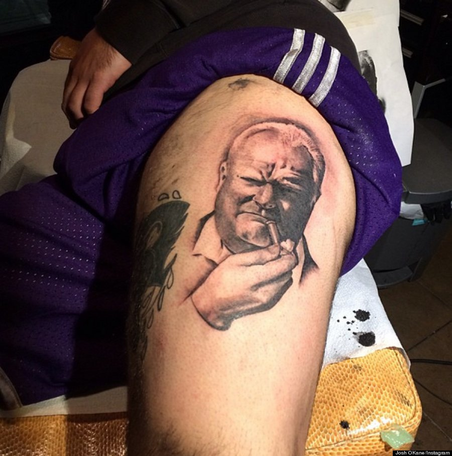 rob ford tattoo