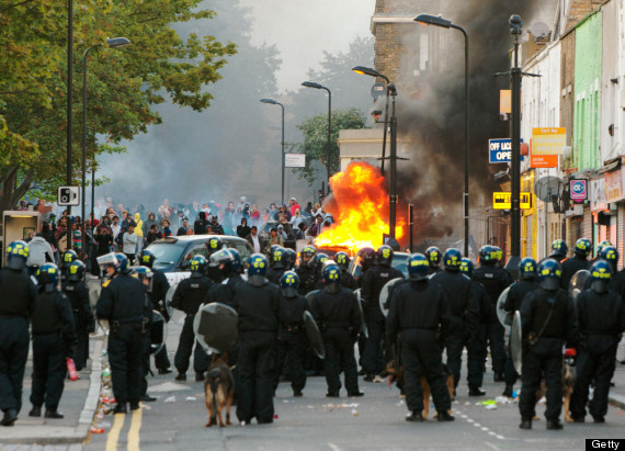 london riots tottenham 2011