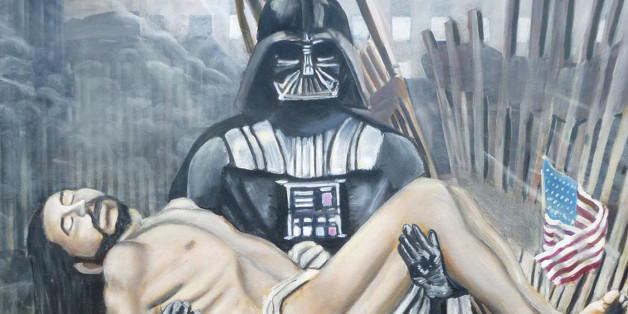Jesus Darth Vader Painting By Cedric Chambers Selling On eBay