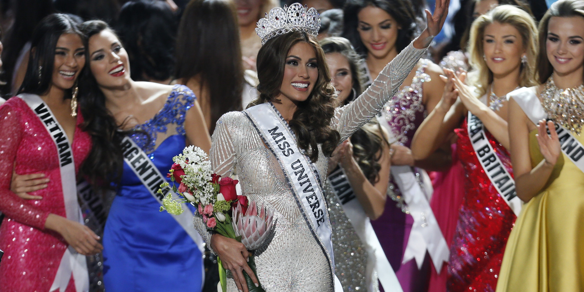 Shes beauty and shes  grace? Miss Universe 2013