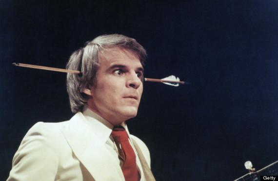 steve martin arrow in head