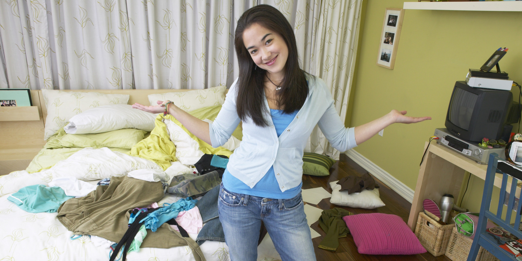 Why My Daughter's Messy Room Says More About Me Than It Does About Her |  HuffPost