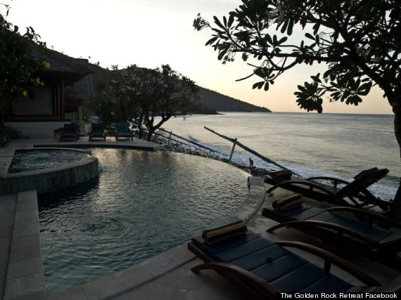 golden rock retreat bali