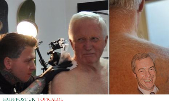 david dimbleby tattoo