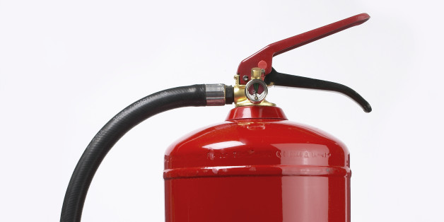 Joseph Small is said to have inserted the hose of a fire extinguisher into his bottom (file picture)