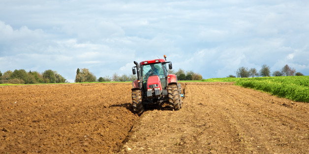 The boy is believed to have been hit by a tractor (file image)