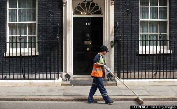 westminster road sweeper