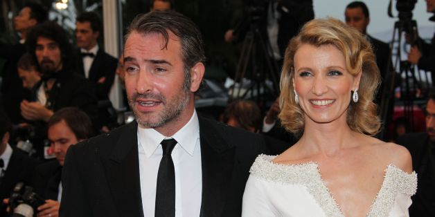 Jean dujardin and wife split after four years of marriage for Dujardin lamy