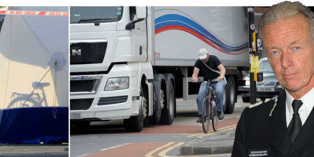 Cyclists 'one wobble' from disaster