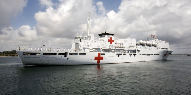 China's Hospital Ship Stays Home While Typhoon Death Toll Rises In Philippines