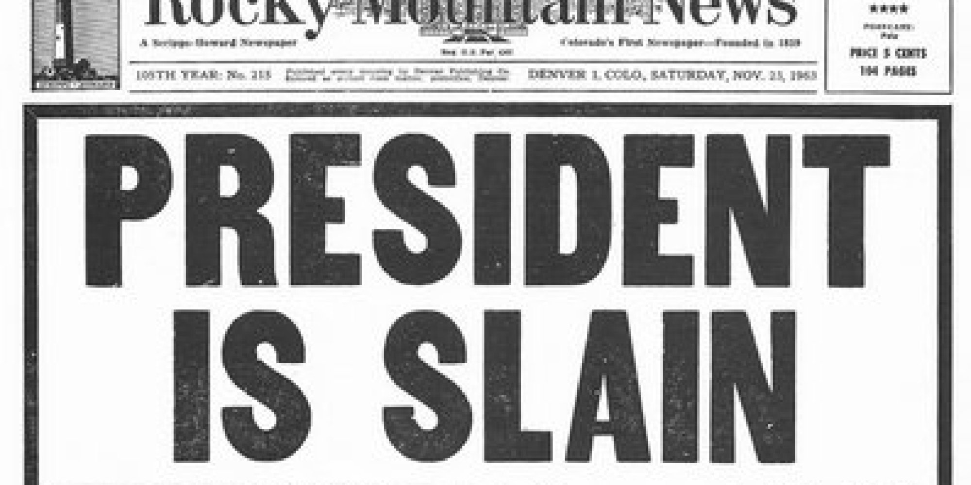 how the world u0027s newspapers reported jfk u0027s assassination huffpost