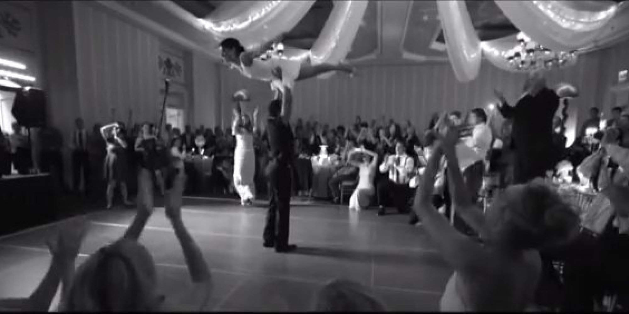 Couple Performs Dirty Dancing Scene At Wedding All Signs Point To Awesome Marriage Ahead