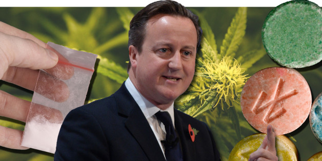 Cameron's stance on drugs