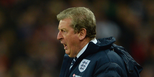 LONDON, ENGLAND - NOVEMBER 19:  England manager Roy Hodgson reacts during the International Friendly match between England and Germany at Wembley Stadium on November 19, 2013 in London, England.  (Photo by Michael Regan - The FA/The FA via Getty Images)