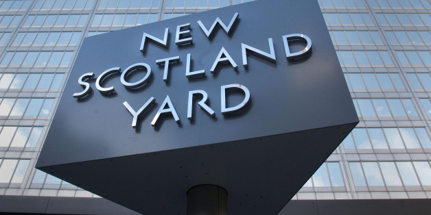 New Scotland Yard, the headquarters of the Metropolitian Police in London.