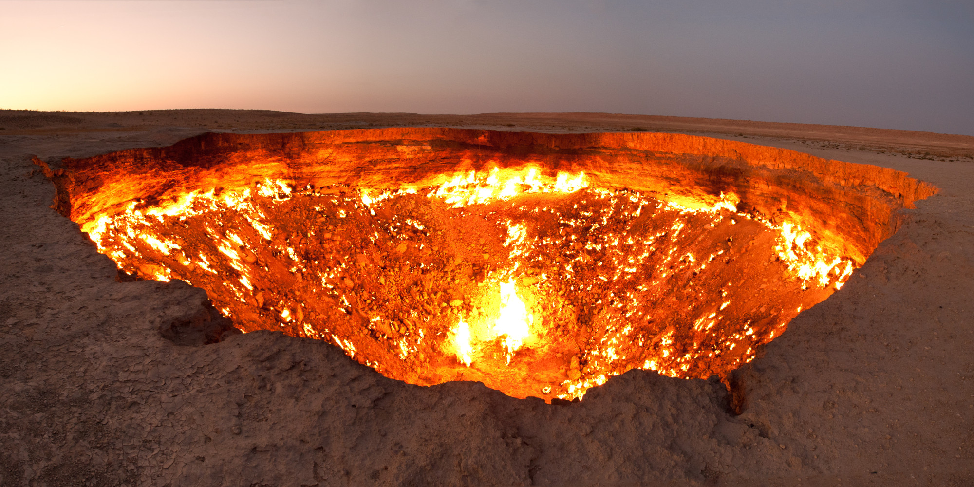 The Door To Hell Is Possibly The Creepiest Place On Planet Earth (PHOTOS) | HuffPost & The Door To Hell Is Possibly The Creepiest Place On Planet Earth ...