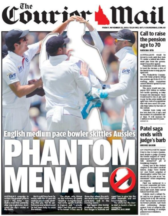 stuart broad courier mail