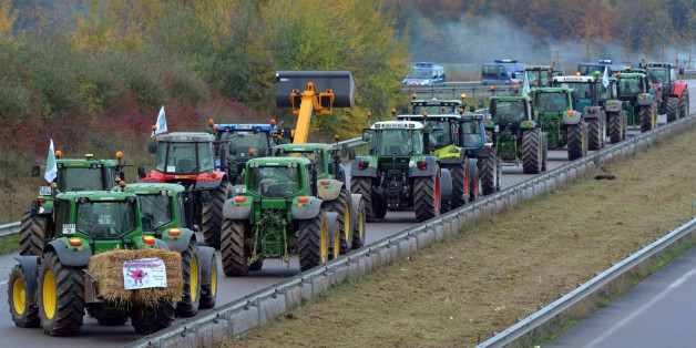 1 Dead, 6 Injured After French Farmers Blockade Paris