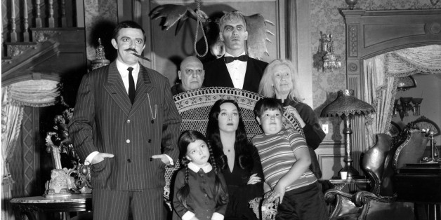 the addams family' set as you've never seen it before | huffpost