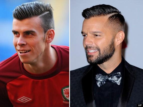 Ricky Martin Copies Gareth Bales Haircut