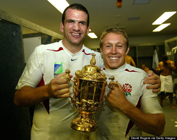 martin johnson world cup trophy