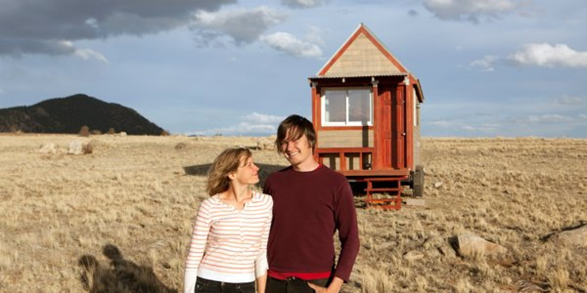 Couple Build Tiny House Seek A New American Dream