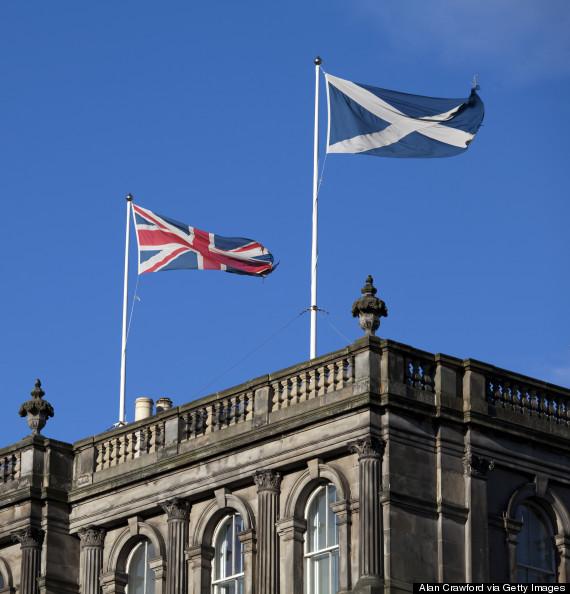scottish flag union jack
