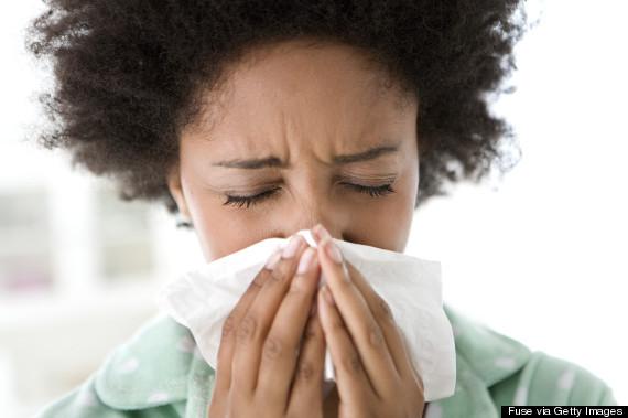 woman allergy