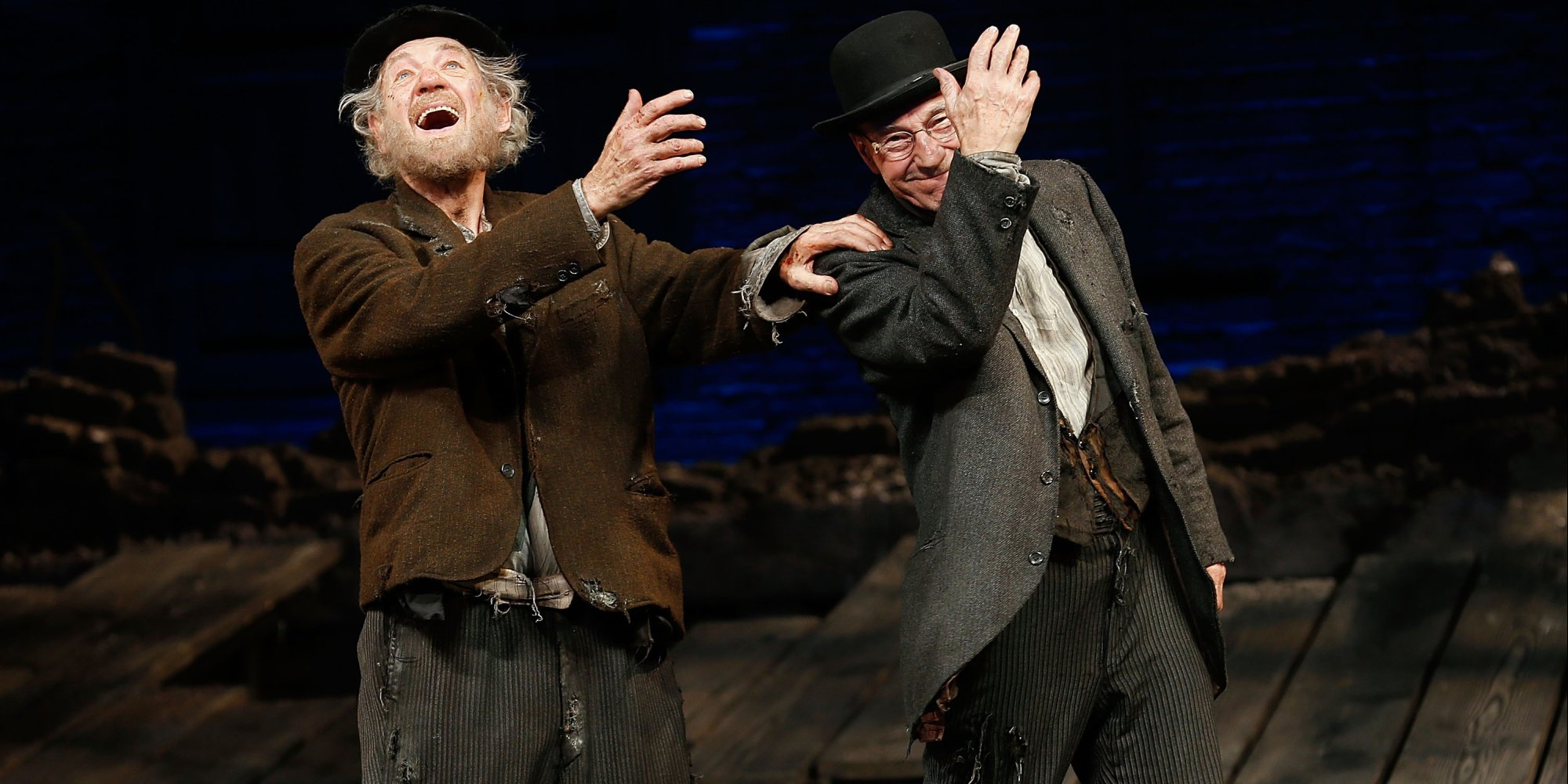 an analysis of the role of godot in samuel becketts play waiting for godot In some works of literature, a character who appears briefly, or does not appear  at all, is a significant presence an example of this can be found in the play.