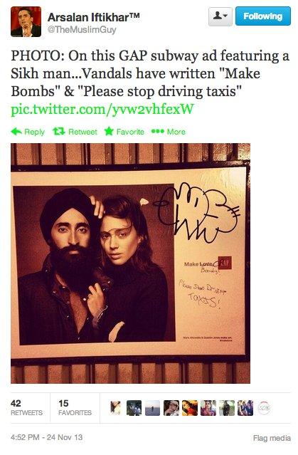 GAP sikh ad