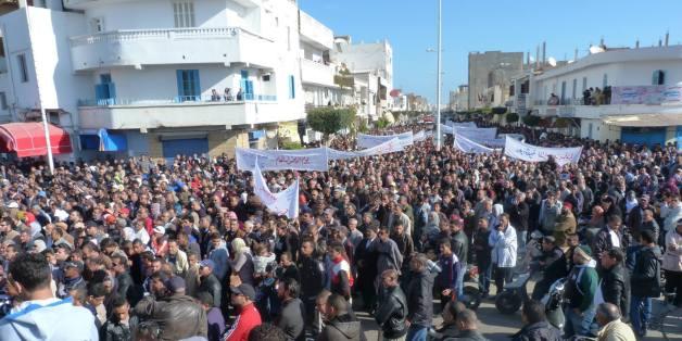Manifestations à Gabès