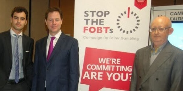 Nick Clegg In 'Tuition Fees Re-run' Over FOBT Gambling Machines Vote