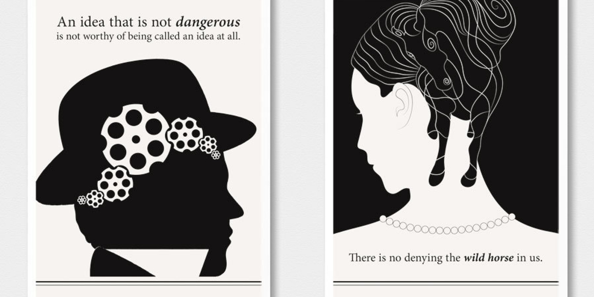 14 Literary Posters That Turn Famous Authors Words Into Art