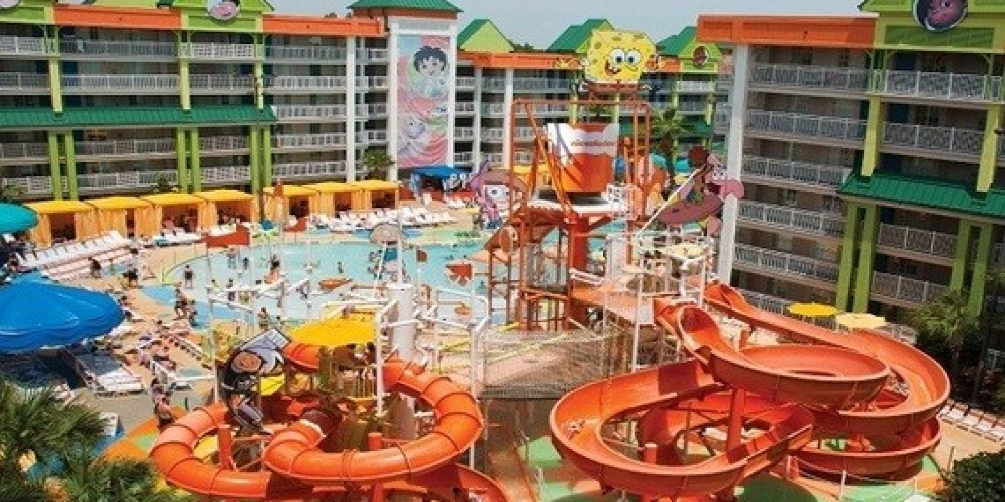 Orlando S Most Amazing Hotel Pools Huffpost