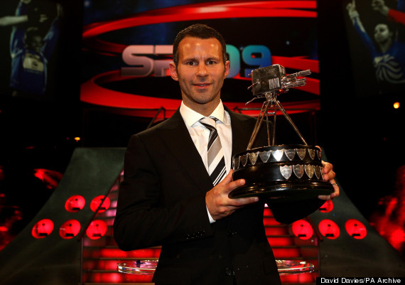 ryan giggs bbc sports personality of the year