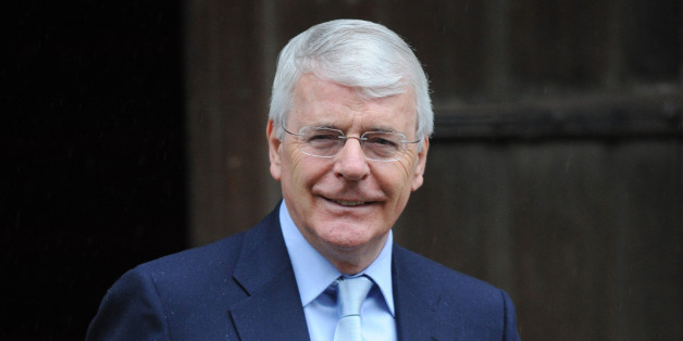 Former Prime Minister Sir John Major arrives at the Royal Courts of Justice, London, to attend the Leveson Inquiry into press standards.