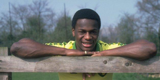 Apr 1981:  Portrait of Justin Fashanu of Norwich City. \ Mandatory Credit: Allsport UK /Allsport