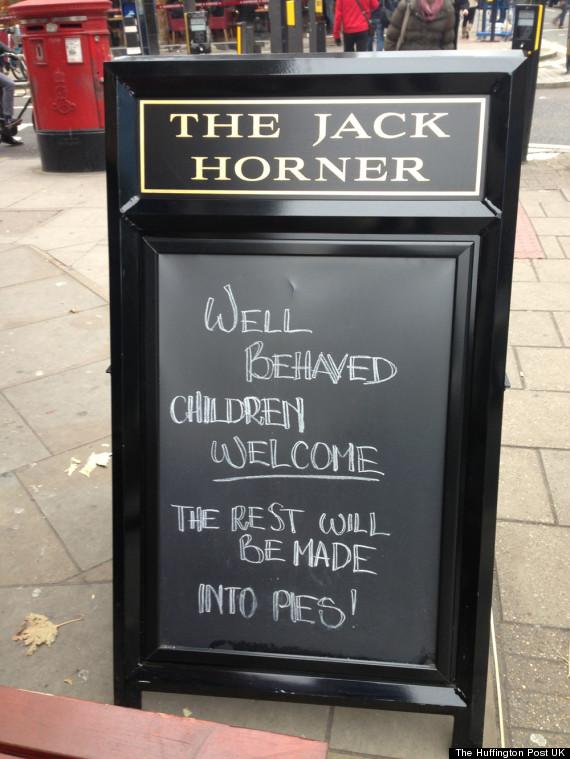 jack horner pub sign