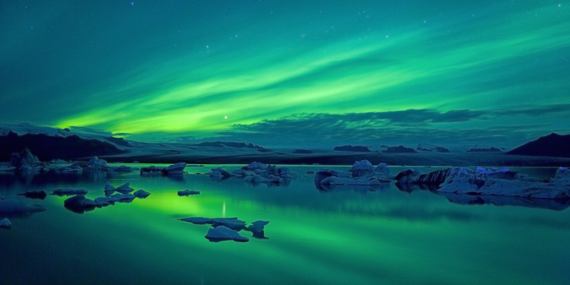 nature glowing seen never northern before lights huffpost rights nd ve