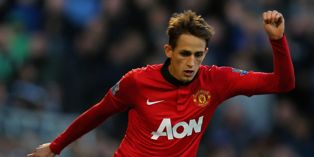 LONDON, ENGLAND - NOVEMBER 02: Adnan Januzaj of Manchester United on the ball during the Barclays Premier League match between Fulham and Manchester United at Craven Cottage on November 2, 2013 in London, England.  (Photo by Clive Rose/Getty Images)