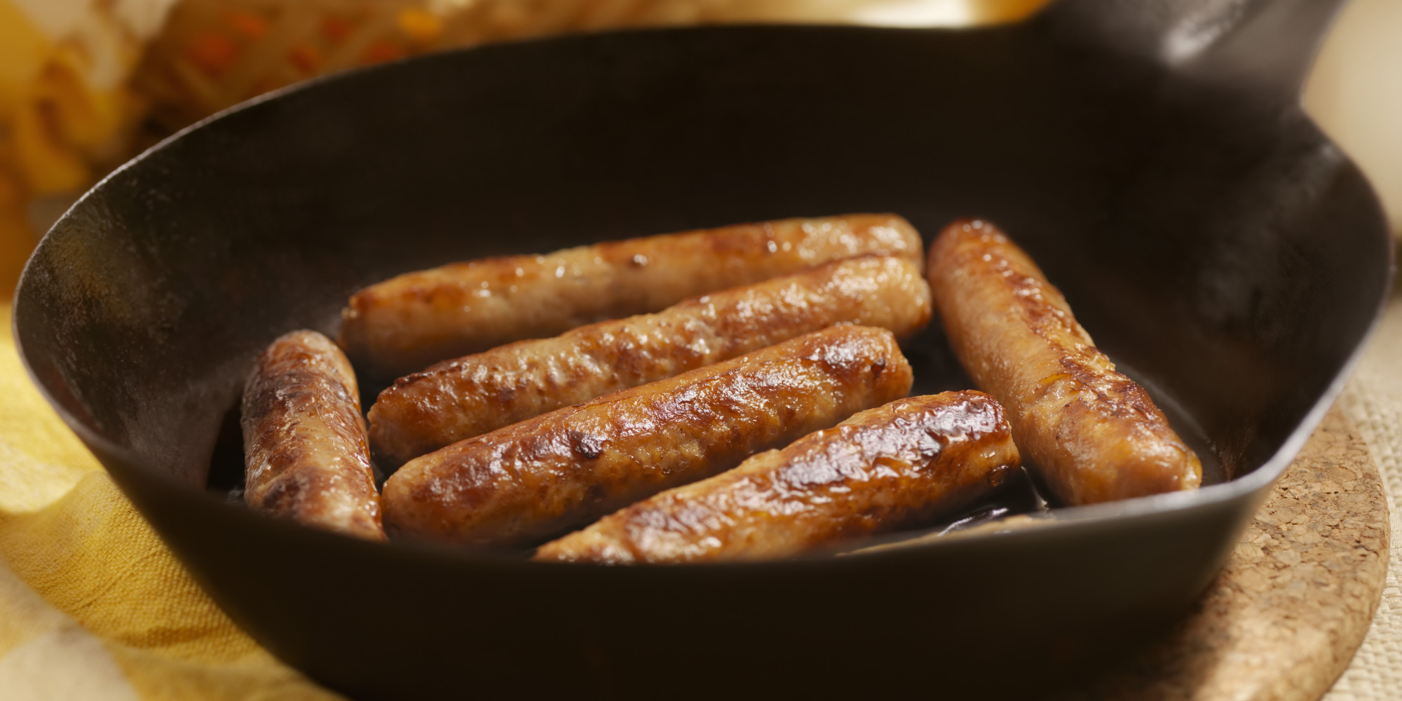 how to cut sausage links