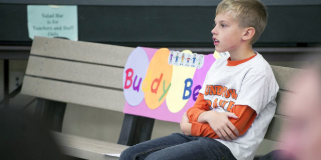 Second-grader Christian Bucks knows some kids can get lonely during recess, and he decided to do something about that.