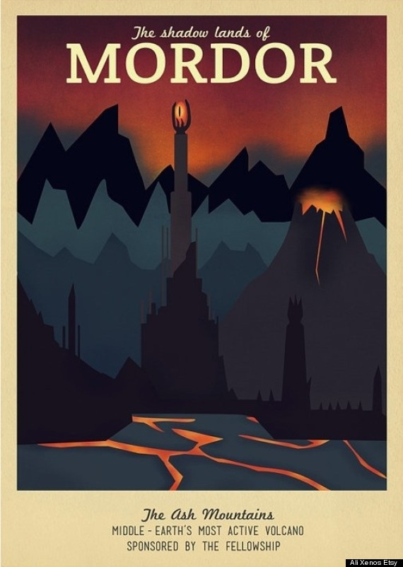 ali xenos travel posters