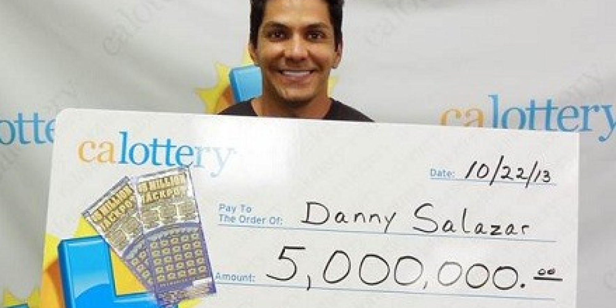 Apparently, Wishing For A Winning Lottery Ticket Works      HuffPost