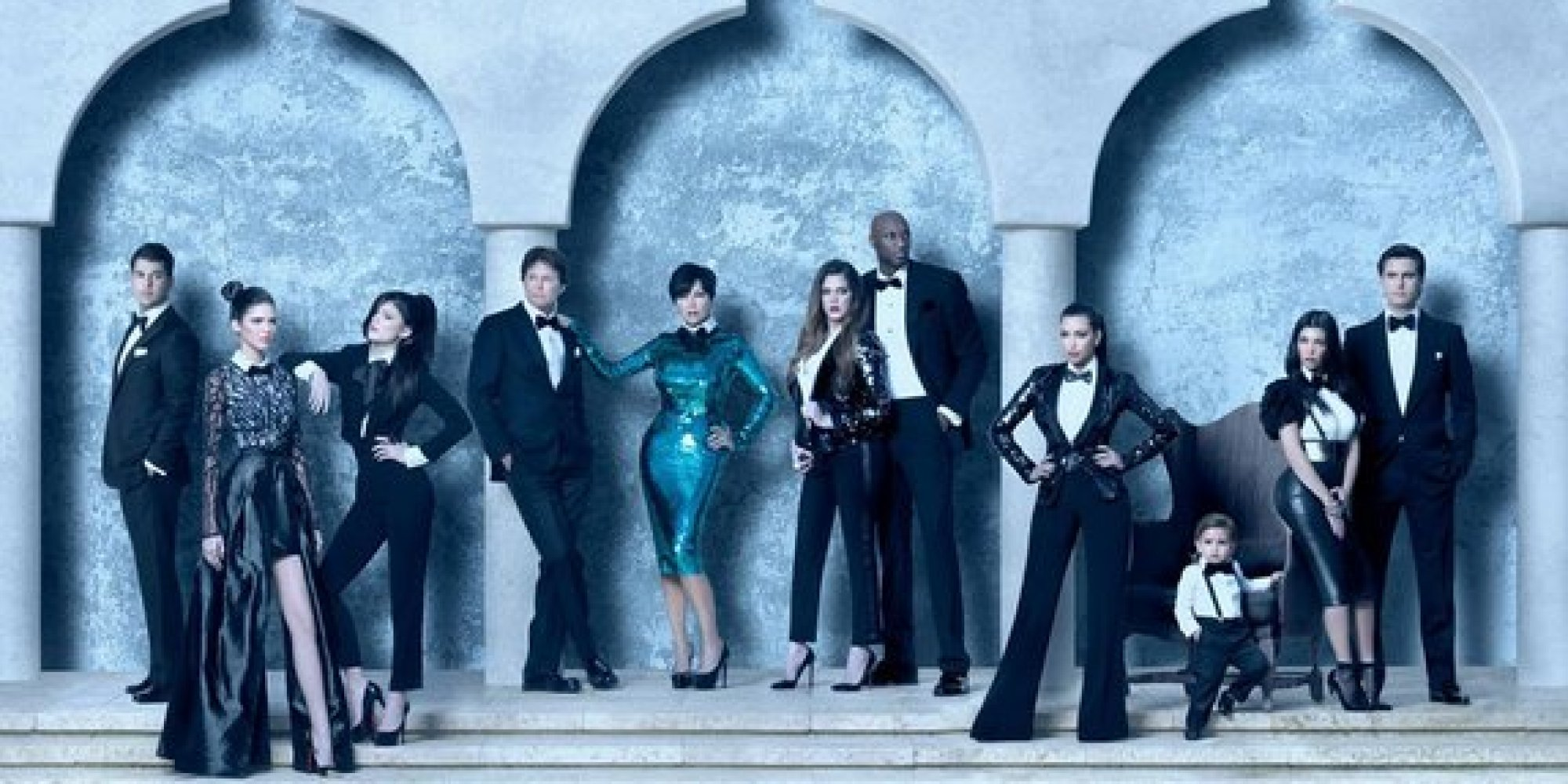 The 11 Most Absurd Kardashian Christmas Cards | HuffPost