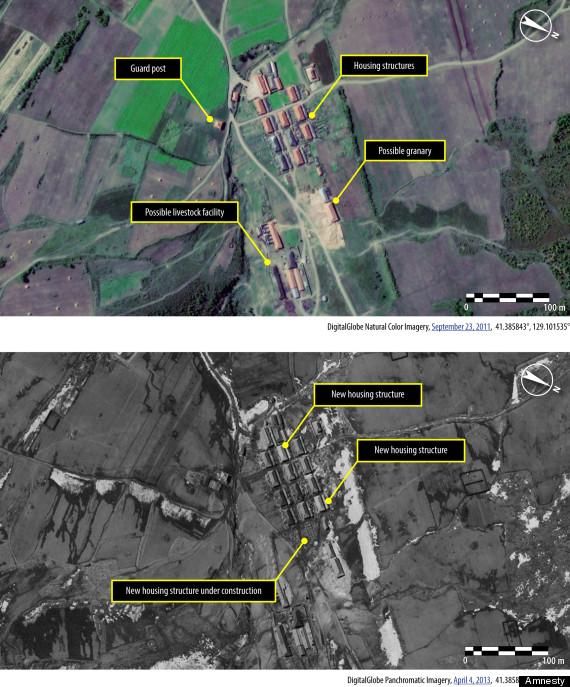 north korea camps