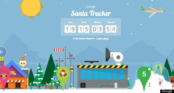 サンタクロースの追跡 googleとマイクロソフトが競う ハフポスト
