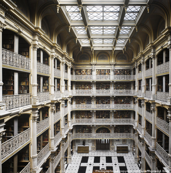 peabody library di baltimora